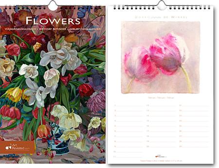 Verjaardagskalender Flowers