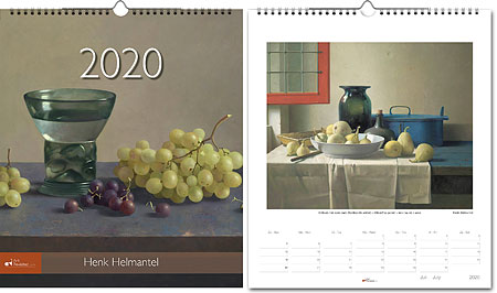 Jaarkalender 2020 Henk Helmantel