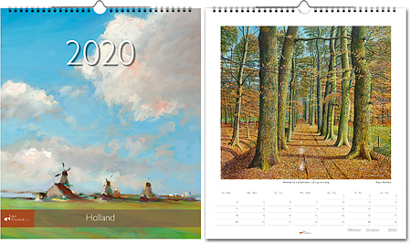 Year Calendar Holland