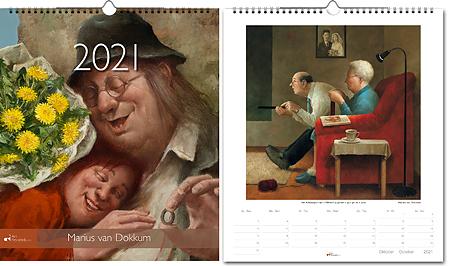 Calendar 2021 Marius van Dokkum
