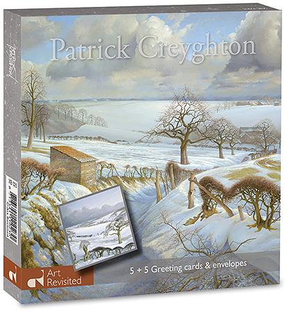 Uitzicht Harles + Landschap in de sneeuw