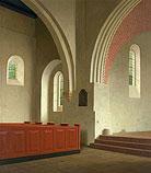 Interieur Donatuskerk te Leermens…