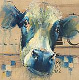Zwartbonte koe