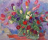 Tulpen en anemonen