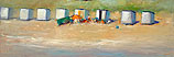 Beach cabins, Zoutelande