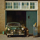 Volvo Amazon at the garage