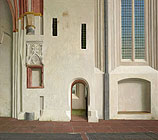 The north wall of the Nicolai Church …