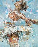 Ballerina in Blue