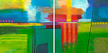 Sunny day (diptych)