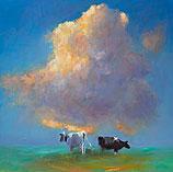 Wolk en koeien
