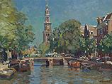 Westerkerk op een zomerse dag