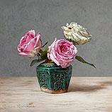 Stilleven met rozen