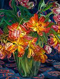 Geel-rode tulpen