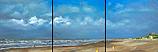 Beach north triptych
