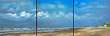 Beach North triptych