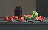 Watermeloen en granaatappels