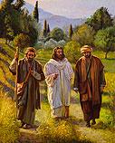 De Emmaüsgangers (Luk. 24)