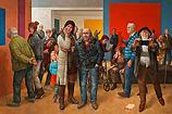 Museum visitors