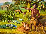 Adam geeft de dieren namen