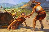 Kaïn vermoordt Abel