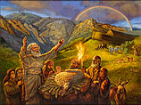 Het offer van Noach