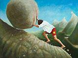 De weg naar de top (Sisyphus)