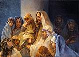 Jezus zegent de kinderen