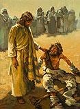 Healing of a leper