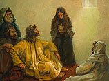 Jesus anointed by a sinful woman