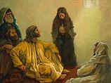Jezus gezalfd door een zondares
