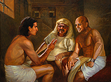 Joseph in prison with the cupbearer a…