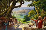 Abram's altaar bij Mamre-Hebron