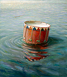 Floating drum