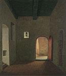Interieur van het klooster in Ter…