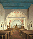 De Andreaskerk in Westeremden, vo…