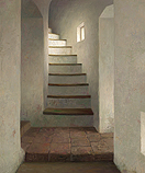 Stairs in Ammersoyen Castle