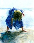 Tekenen in het zand
