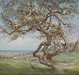 Bloeiende appelboom, Voerstreek