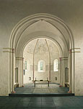 De absis van de romaanse kerk in …