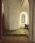 Onder het orgel in de Mariakerk t…