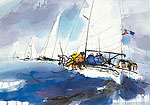 Sea, sky and sailing