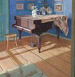 Interieur met piano