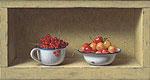 Kastje met zomerfruit