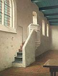 De 13e eeuwse stenen preekstoel in de…