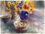 Sunflowers and Mango's