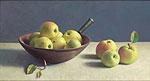 Stilleven met appels