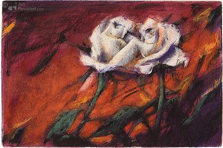 2 rote Rosen