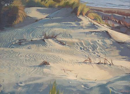 Dunes, summer evening
