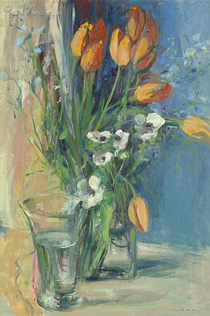 Tulpen met anemonen