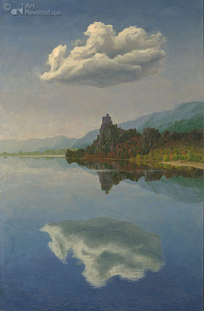 Cloud, Castle, Lake II